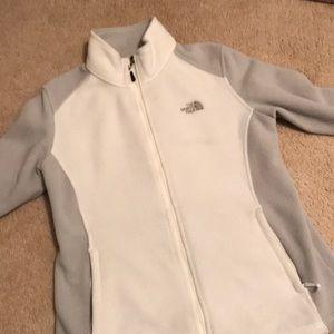 The NorthFace Zip up Fleece Sweater